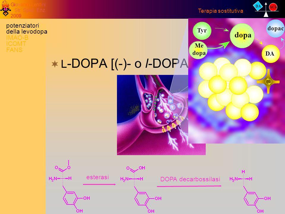 L-DOPA [(-)- o l-DOPA] dopa